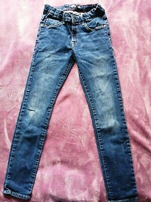 Tiffosi Boys Blue Stretch Skinny Jeans Age 10 Years - hardly worn