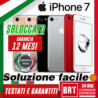 Grado A+++ Smartphone Apple Iphone 7 32Gb 128Gb 256Gb Sbloccato Originale! 24H!!