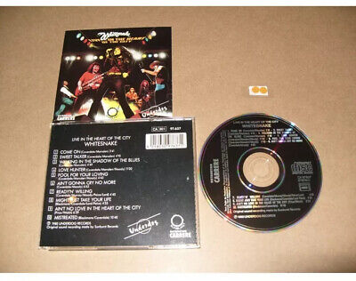 Whitesnake - Live...in the heart of the city 2cd In VGC