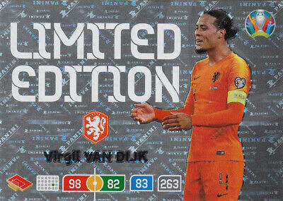 Panini Adrenalyn XL Uefa Euro 2020 Limited Edition Card zum aussuchen