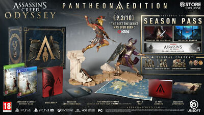 """Assassin's Creed Odyssey Pantheon Collector Edition PS4 """"NEW"""" COMPLETE RARE"""