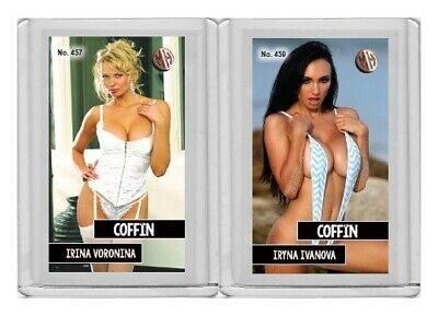 Iryna Ivanova rare MH Coffin #'d 1/3 Tobacco card no. 459