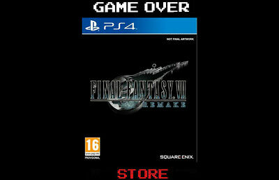 Final Fantasy Vii 7 Remake Ps4 Videogame Gioco Playstation4