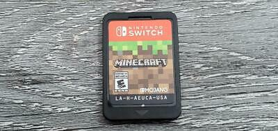Minecraft (Nintendo Switch 2018) Game Cartridge Only Pre-Owned