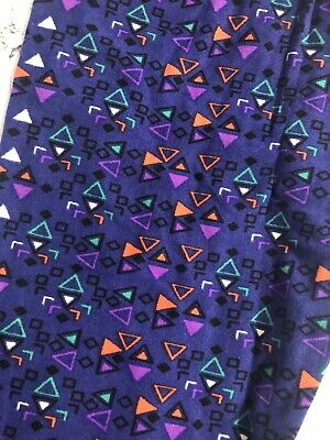 Lularoe Women Girls Leggings Size Tween Petite Women's Blue Green Purple