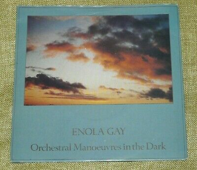 "Orchestral Manoeuvres In the Dark OMD - Enola Gay / Annex 7"" Single : Pic Sleeve"