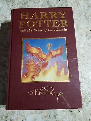 HARRY POTTER and the ORDER OF THE PHOENIX  DELUXE  FIRST EDITION HB NEW