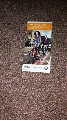 2010 Ephemera A Map of London Transport Cycling guide 4 - Mill Hill to Hackney