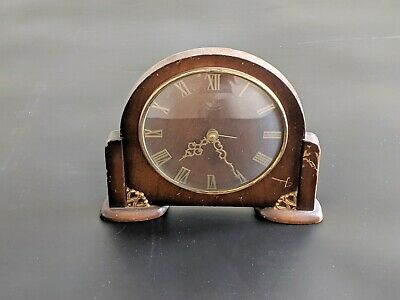 Smiths Sectric Vintage Mantle Clock 1931-1955 Smiths English Clocks Untested