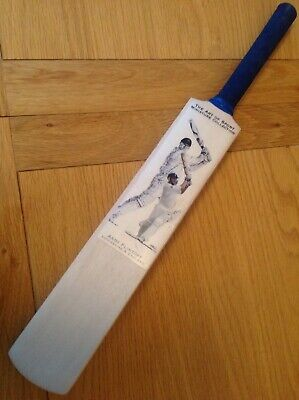 Andy Flintoff The Art Of Sport Miniature Collection Cricket Bat