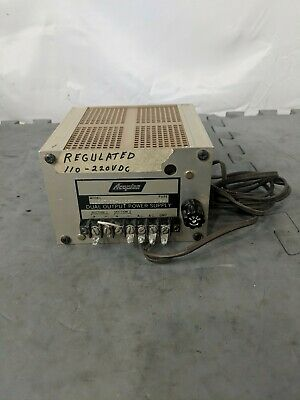 Acopian Dual Output Power Supply, Regulated 110-220VDC