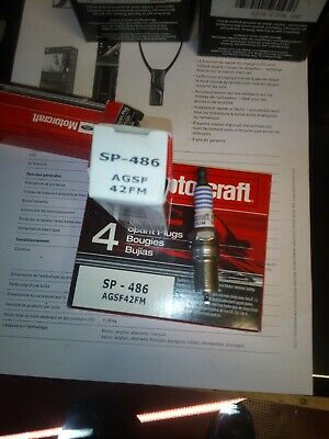 6 bougies  Motorcraft SP486  Platinum AGSF42FM