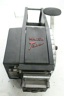 Marsh 5002P Model HT Hand Taper Gummed Tape Dispenser