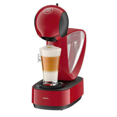 Cafeteras Krups Dolce Gusto Infinissima Cafetera Manual Roja
