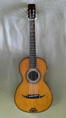 Rare Circa 1860's Antique Parlor Guitar! A Wonderful Guitar!!!
