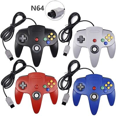 For Nintendo 64 N64 Controller Video Game Console Gamepad Joystick Joypad Wired