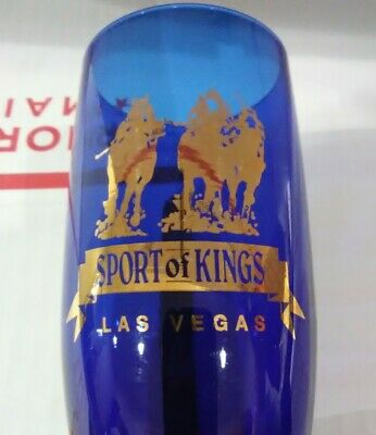 Sport Of Kings Las Vegas, Nevada Beautiful Logo Glass Great For Any Collection!