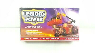 Legions of Power Tech Dynasty Ground Terrors Featuring Lt. Reighnor