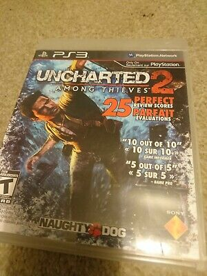 Uncharted 2: Among Thieves (Sony PlayStation 3, 2009) NTSC