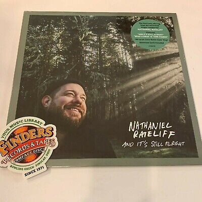 Nathaniel Rateliff- And It's Still Alright Coke Bottle Clear Vinyl LP