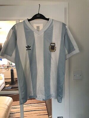 Argentina 1990 91, 92 93 Football Shirt Jersey Adidas Originals 10 Maradona