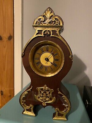 Small Hac Mantel Clock For Spares Or Repair