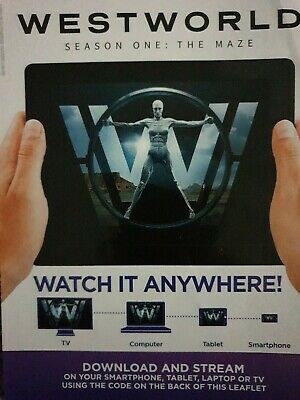 Westworld - Complete Season 1: The Maze - GOOGLE HD ONLY