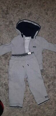 kids Hugo Boss tracksuit age 2 years excellent condition