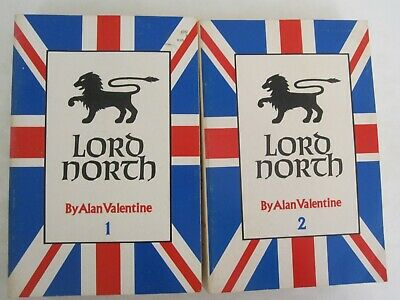 Lord North (Two-Volume Biography) Paperback, 1967