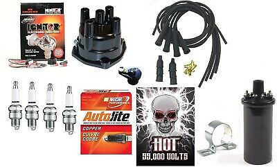 John Deere 2010 Tractor Electronic Ignition Kit w/ Hot Coil for 12V Neg Grd