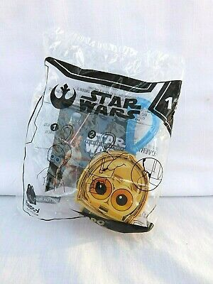 McDonalds Happy Meal Toys Star Wars 2019 Rise of Skywalker C-3PO # 12 NEW SEALED