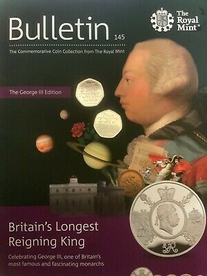 Brexit 50P Coin 2020 Uncirculated From The Royal Mint