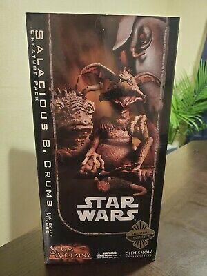 Sideshow Star Wars Salacious Crumb Creature Pack Exclusive Sixth Scale Figure