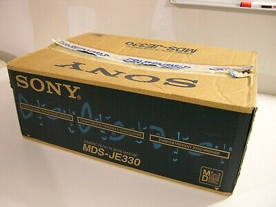 Sony Mds-Je330 Minidisc Deck Excellent , Original Box