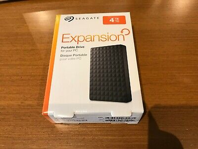 Seagate STEA4000400 Expansion 4TB Portable External Hard Drive USB 3 & USB 2
