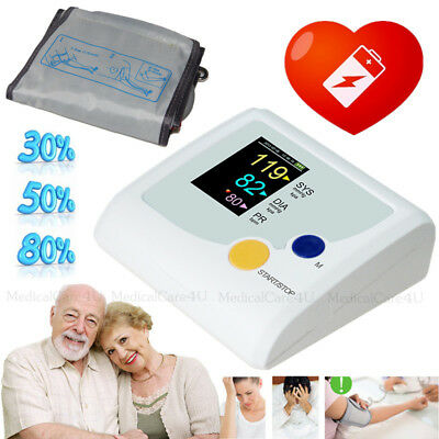 FDA upper arm blood pressure monitor sphgmomanometer meter with cuff Heart Beat