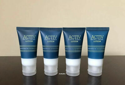 ACTIV 4 Body Care LOTION 1 oz / 30 ml each Four Points by Sheraton (Lot of 4)