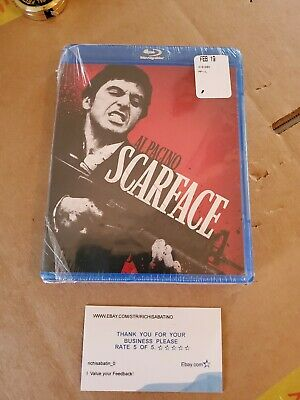 Scarface (1983) [Bluray, dvd] (BRAND NEW) Factory Sealed