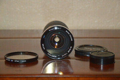 Vivitar Series 1 Macro Focusing VMC 28-90mm f/2.8-3.5 Lens for Canon FD Mount