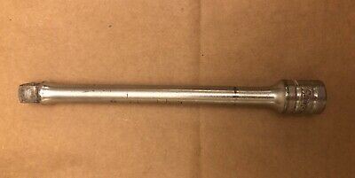"""Snap-On FX-6 3/8"""" Drive 6"""" Chrome Extension VINTAGE UNDERLINED LOGO, Pre-Owned"""