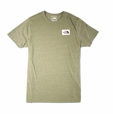 The North Face Mens T-Shirt Heather Green Size XL Crewneck Short-Sleeve 955