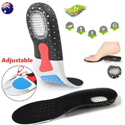 Arch Support Insoles Shoes Insert Orthotic Sole Running Cushion Plantar Pads AU