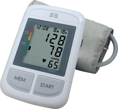 Andon Automatic Upper Arm Blood Pressure Monitor with Voice Function Big BP Cuff