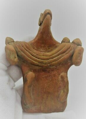 Circa 2000Bce Ancient Indus Valley Harappan Terracotta Fertility Figure
