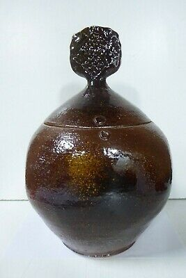Vintage Les Blakebrough Exhibition Urn Pot Sturt Studio Australian Pottery