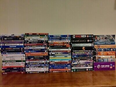 Joblot bundle 90+ DVDs includes Mixed Boxsets, stand-up, special interests(3)