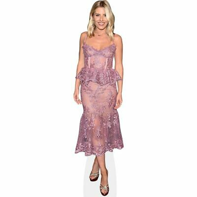 Mollie King (Purple Dress) Life Size Cutout