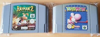 Yoshi's Story Rayman 2 Nintendo 64 N64 PAL Unboxed Great Condition Rare Retro