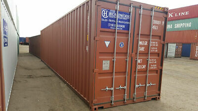 *READ DESCRIPTION BEFORE BUYING* - 40ft High Cube - WWT - Free Delivery