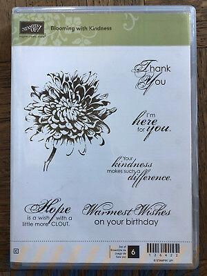Stampin Up Bloom With Hope Part 1 and 2 Stamp Set *RETIRED*